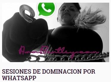 sesiones de dominacion por whatsapp